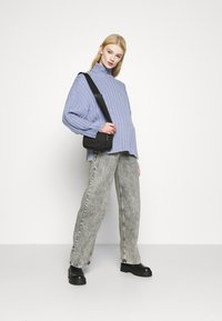 Monki - DONNIE  - Jumper - blue dusty solid - 1