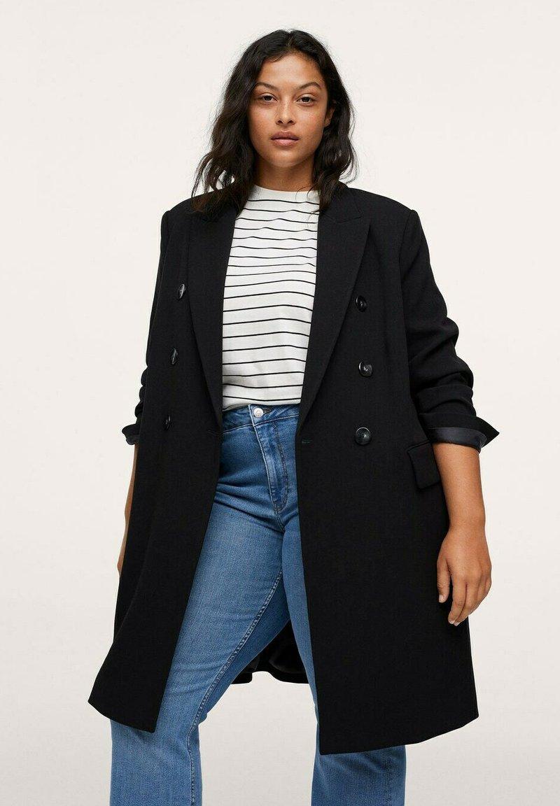 Mango - Short coat - noir