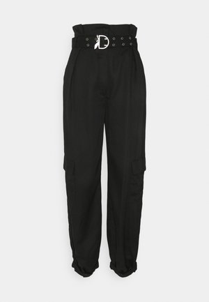 PANTALONI TROUSERS - Cargobroek - nero