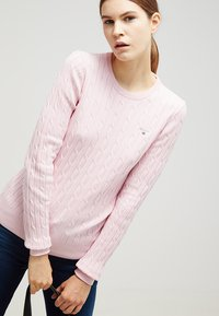 GANT - CABLE CREW - Jumper - nantucket pink - 3