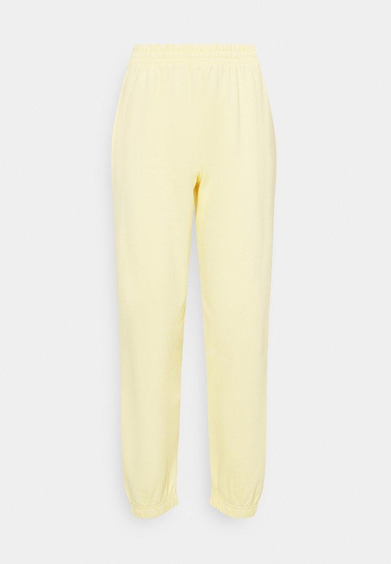 New Look - CUFFED - Pantaloni sportivi - light yellow