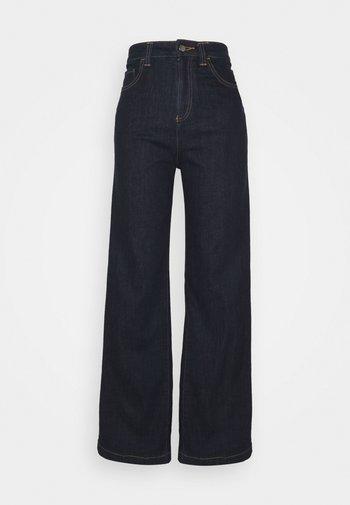 Jeans a zampa - dark blue denim