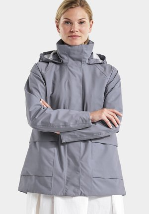 Outdoor jacket - fogy blue
