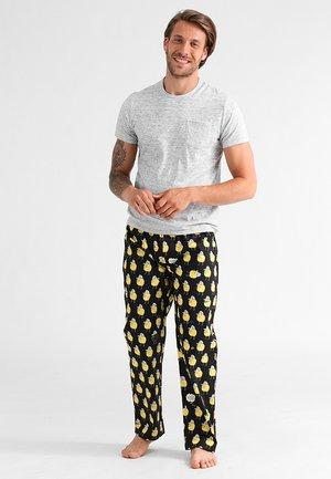 ZITRONE - Pyžamový spodní díl - black