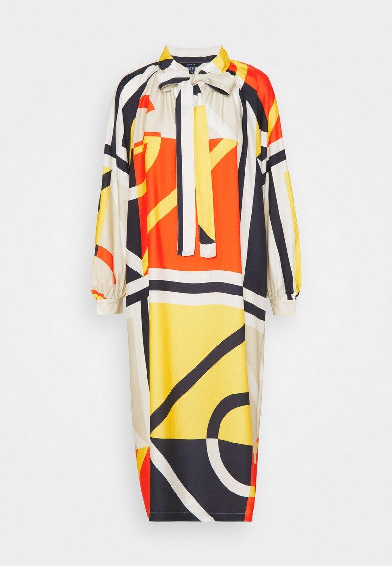 GANT - COLOR BLOCK ICON DRESS - Sukienka letnia - multicolor