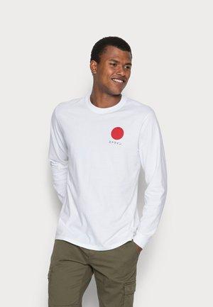 JAPANESE SUN UNISEX - Long sleeved top - white