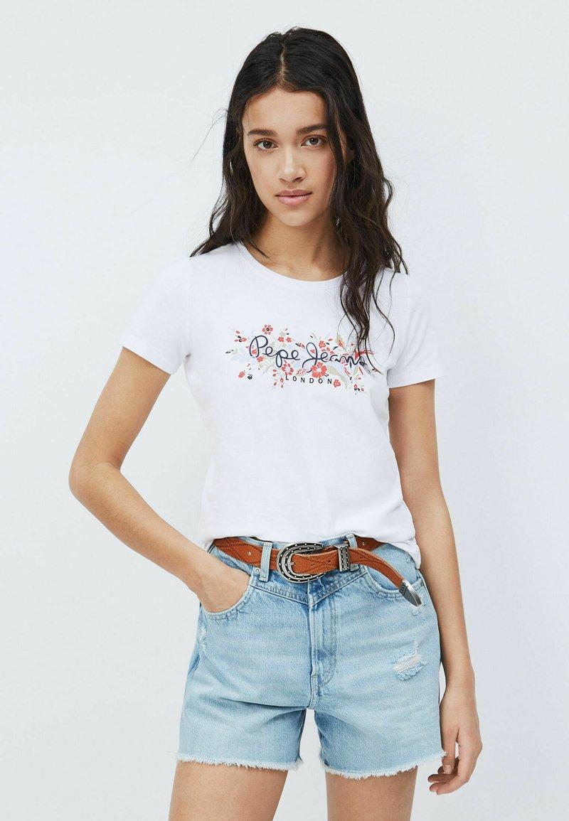 Pepe Jeans - Print T-shirt - blanco off