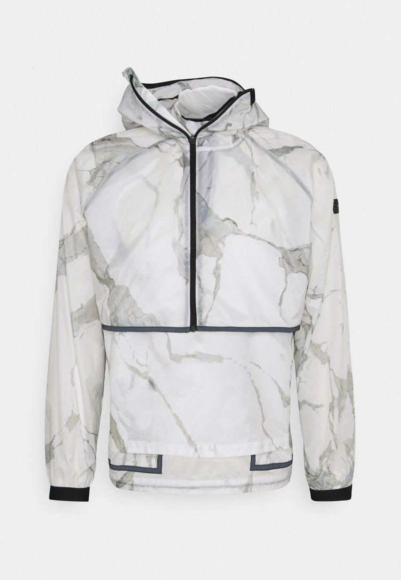 EA7 Emporio Armani - 2-IN-1 - Summer jacket - off-white
