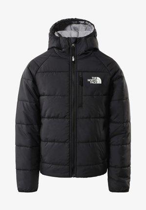 G REVERSIBLE PERRITO  - Down jacket - TNF BLACK/MELD GREY