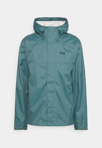 LOKE JACKET - Hardshell jacket - north teal blue