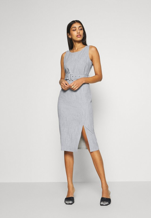 MONICA DRESS - Shift dress - grey
