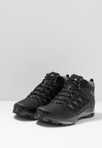 Columbia - WAYFINDER OUTDRY - Hiking shoes - black, steam - 2