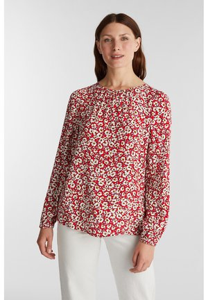 CREPE - Blouse - red