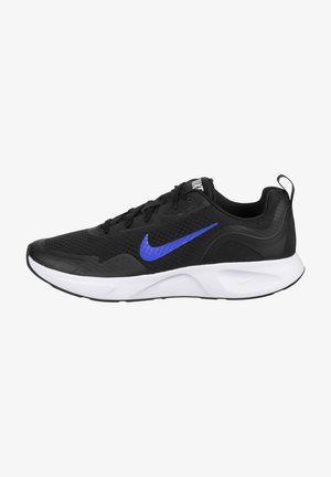 WEARALLDAY  - Neutral running shoes - black / game royal / white