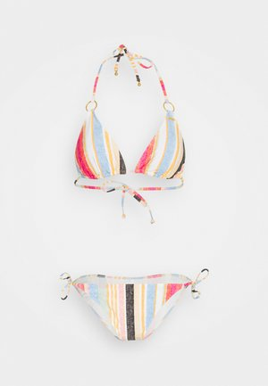 CAPRI BONDEY FIXED SET - Bikini - yellow/red