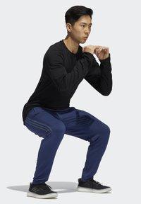 adidas Performance - Träningsbyxor - blue - 2