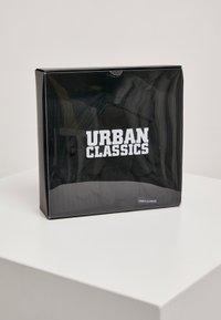Urban Classics - CLASSIC SET - Scarf - black - 2