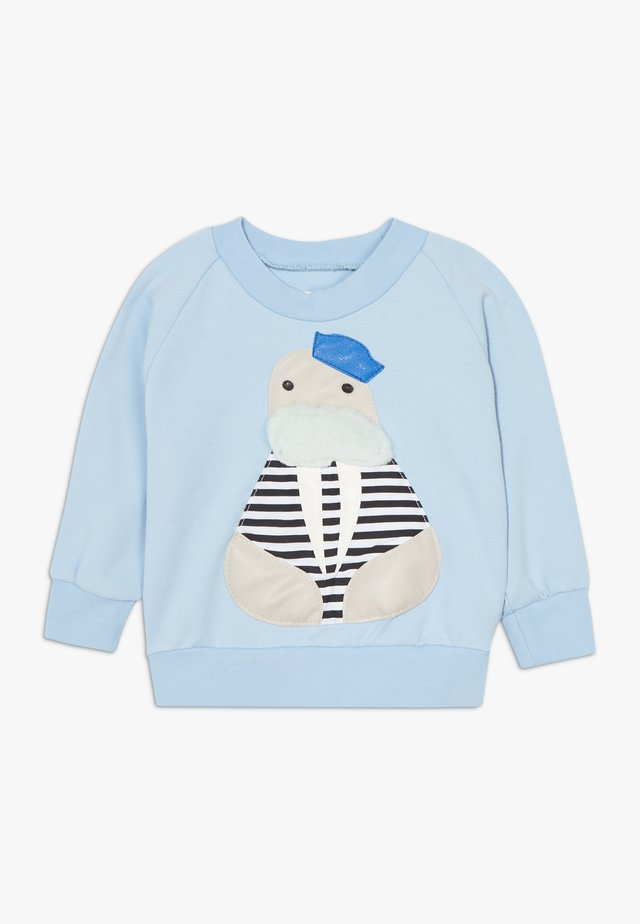 CAPTAIN  - Sweatshirt - light blue