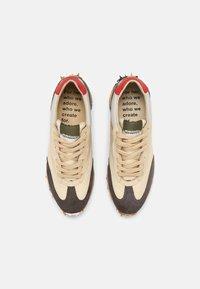 Bronx - MA-TRIXX - Sneakers laag - asphalt/camel/khaki - 3