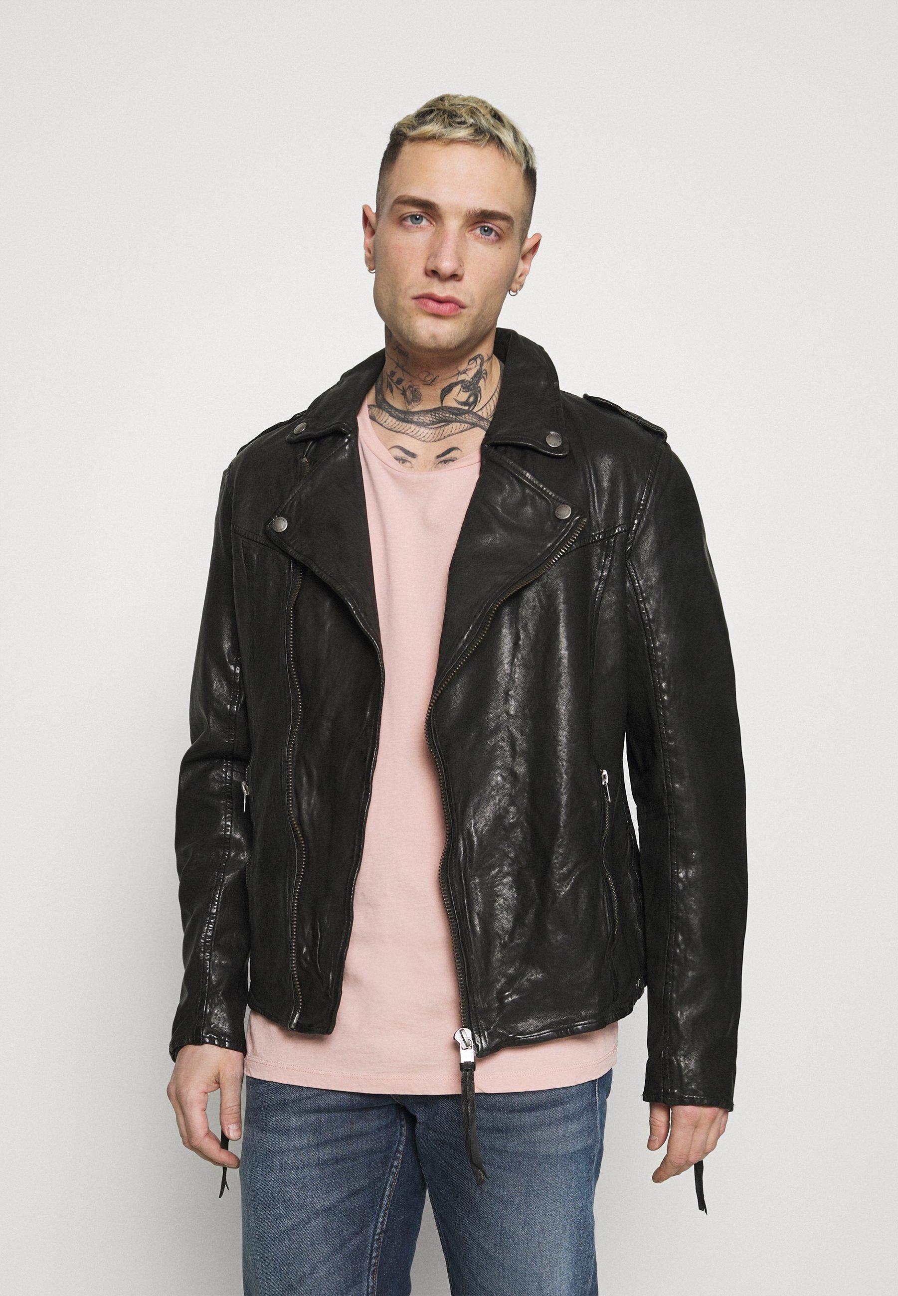 Men FABRICE - Leather jacket