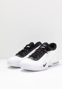 Nike Performance - COURT TECH CHALLENGE - Chaussures de tennis toutes surfaces - white/black/persian violet - 2