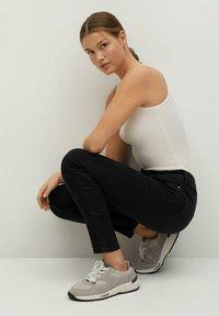 Mango - NOA - Jeans Skinny Fit - black denim - 4