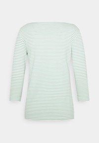 TOM TAILOR - STRIPE BOAT NECK - Long sleeved top - white/green - 1