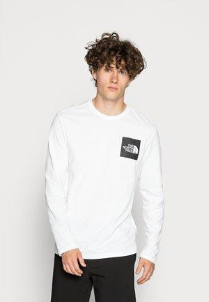 FINE TEE  - Bluzka z długim rękawem - white