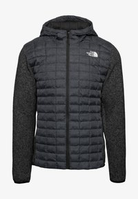 The North Face - M THERMOBALL GORDON LYONS HOODIE - Outdoor jacket - tnf black-graphite grey-tnf dark grey heather - 0