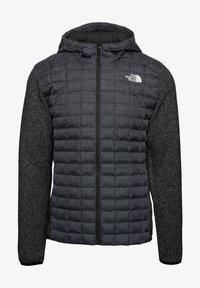 The North Face - M THERMOBALL GORDON LYONS HOODIE - Kurtka Outdoor - tnf black-graphite grey-tnf dark grey heather - 0