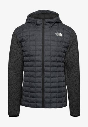 M THERMOBALL GORDON LYONS HOODIE - Outdoorjacka - tnf black-graphite grey-tnf dark grey heather