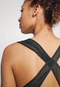 Nike Performance - DRESS - Sports dress - black/white - 4