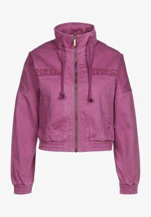 Light jacket - dark pink