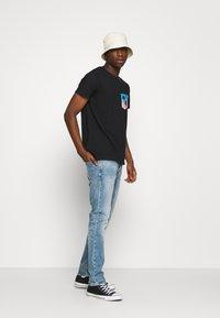 Hollister Co. - T-shirt print - black - 1