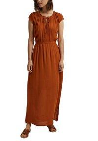 Esprit - Maxi dress - caramel - 0