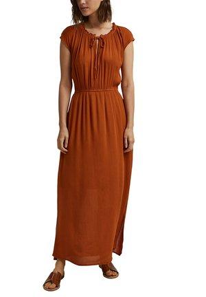 Maxi dress - caramel