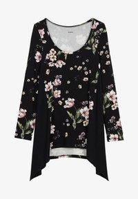 Tezenis - Long sleeved top - nero st.floral bouquet - 4