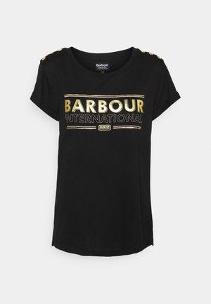 MONTEGI TEE - T-shirt print - black