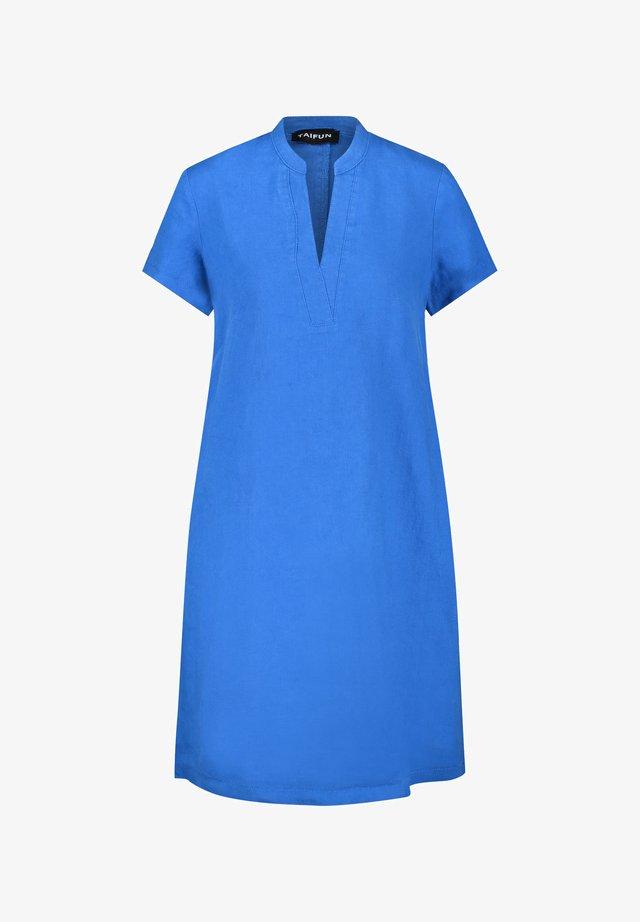 Korte jurk - blue lagoon
