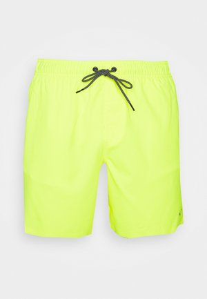 SWIM MEN MEDIUM LENGTH - Plavky - neon yellow