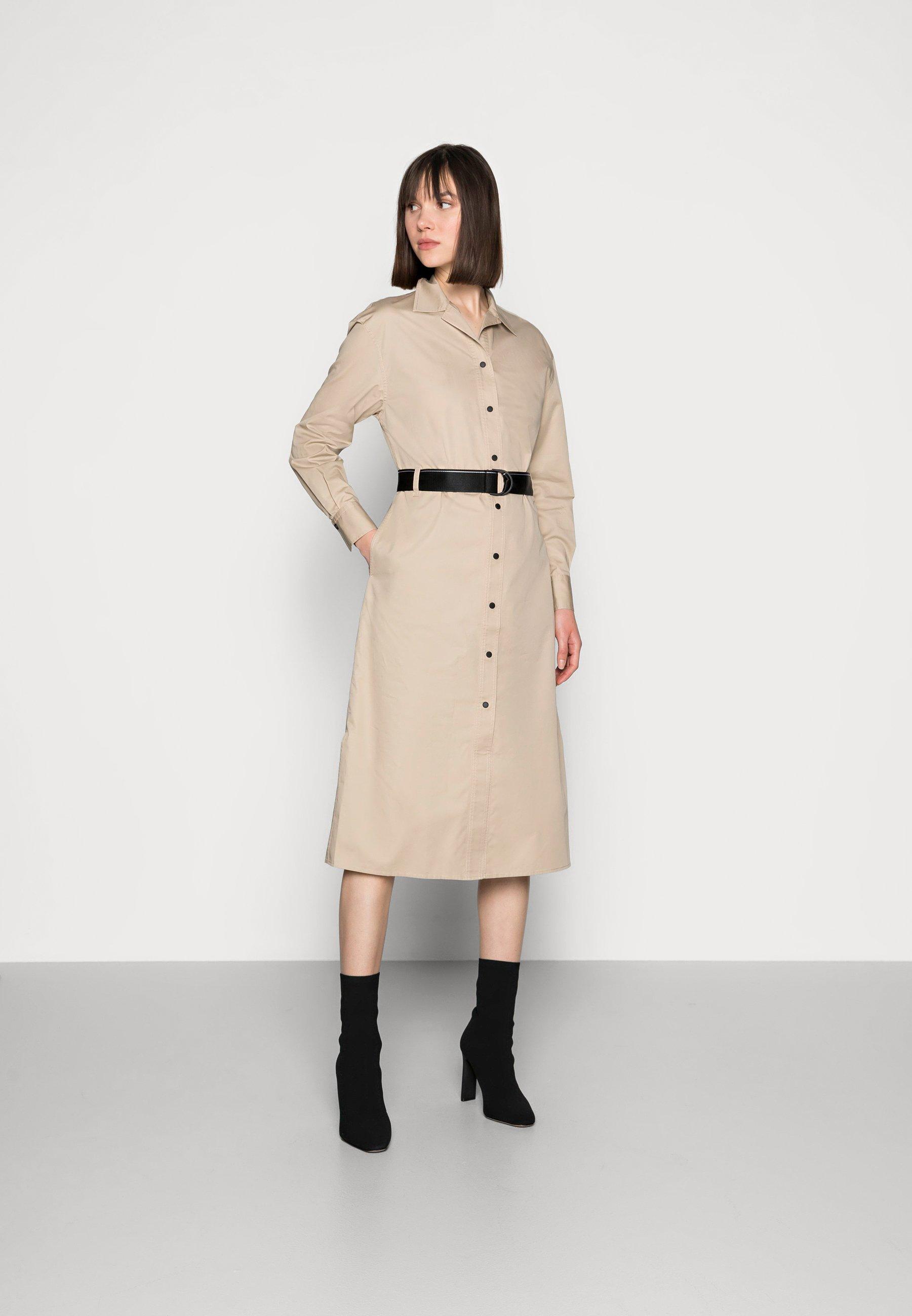 Donna SILKY TOUCH SHIRT DRESS - Abito a camicia