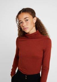 New Look Petite - ROLL NECK 2 PACK - Long sleeved top - black/chocolate - 4
