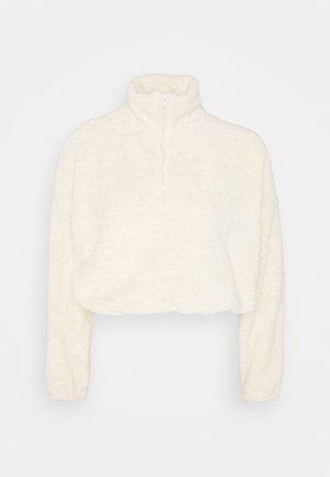 FLUFFY - Fleece jumper - creme