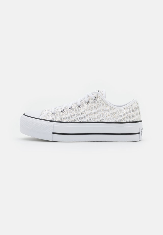 CHUCK TAYLOR ALL STAR OPEN PLATFORM - Sneakers laag - white/black/white