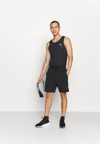 Under Armour - PROJECT ROCK SNAP SHORTS - Pantalón corto de deporte - black - 1