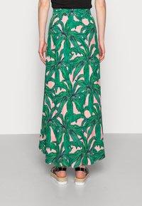 Fabienne Chapot - CORA SKIRT - Maxi skirt - lovely pink/emerald - 2