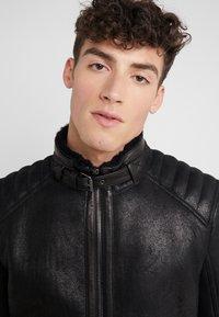 Belstaff - WESTLAKE JACKET - Leather jacket - black - 3