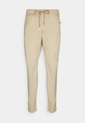 Cargo trousers - classic khaki