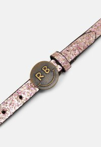 Scotch & Soda - GLITTER BELT WITH BUCKLE - Pásek - blush melange - 2