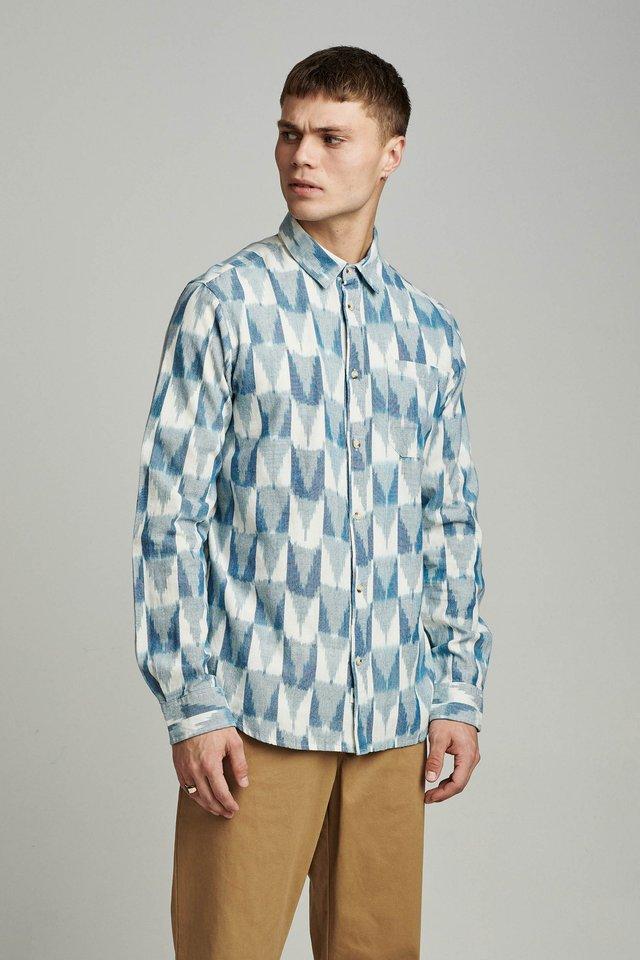 Skjorte - copen blue